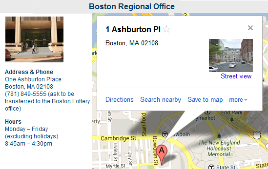 Boston Regional Office