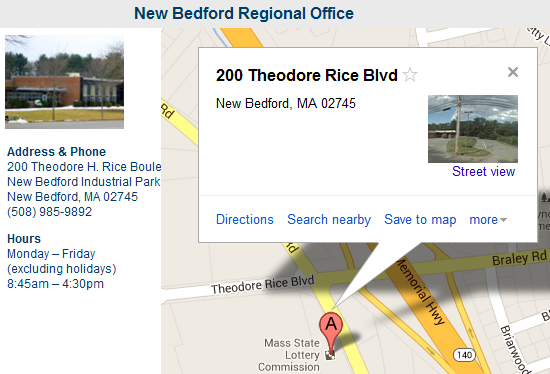 New Bedford Regional Office