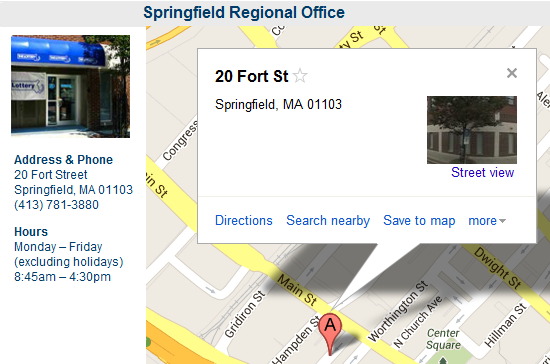 Springfield Regional Office