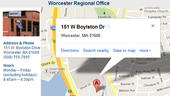 Worcester Regional Office